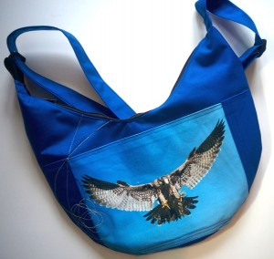 Cotton Bag Printed falcon