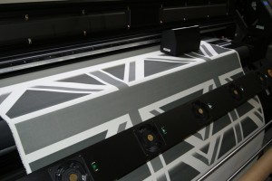Fabric Printing_Jack Union Grey