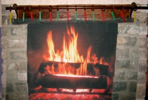 Fire place on cotton 1